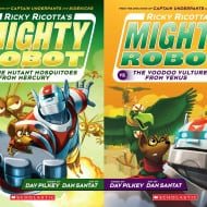 Ricky Ricotta series by Dav Pilkey, all new and in color