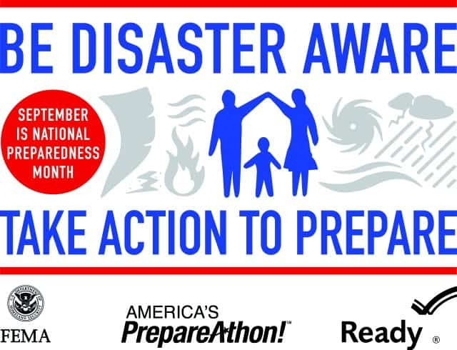Take Action to Prepare