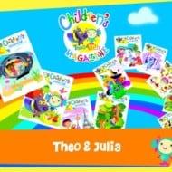 Theo & Julia Children's Interactive Magazine (First Month Free!)