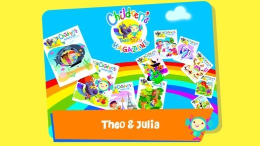 Theo and Julia ipad game