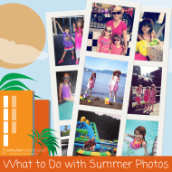 Ask the Domestic Life Stylist: What to Do with Summer Photos