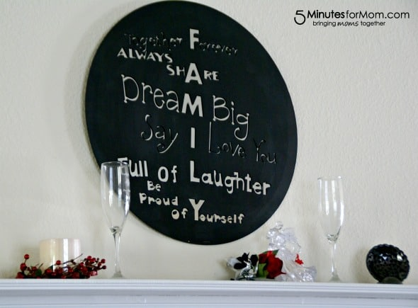 Painted Mirror Quote / by Busy Mom's Helper for 5MinutesForMom.com #craft #homedecor