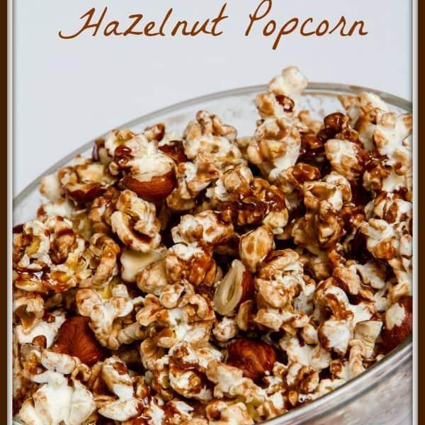 Peanut Butter and Hazelnut Popcorn Recipe