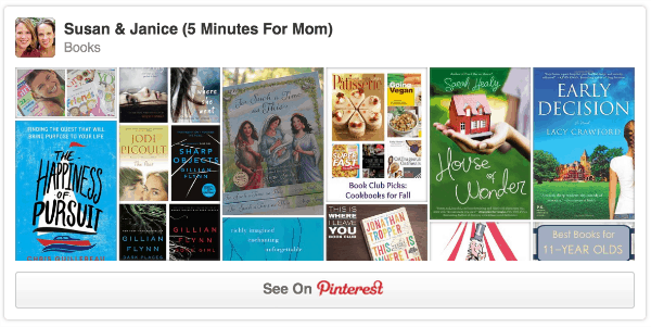 pinterest books board