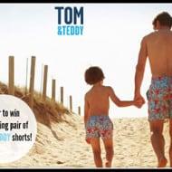 Tom & Teddy's – Matching Swim Trunks for Men & Boys