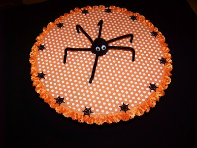 Spider DIY Halloween Decoration