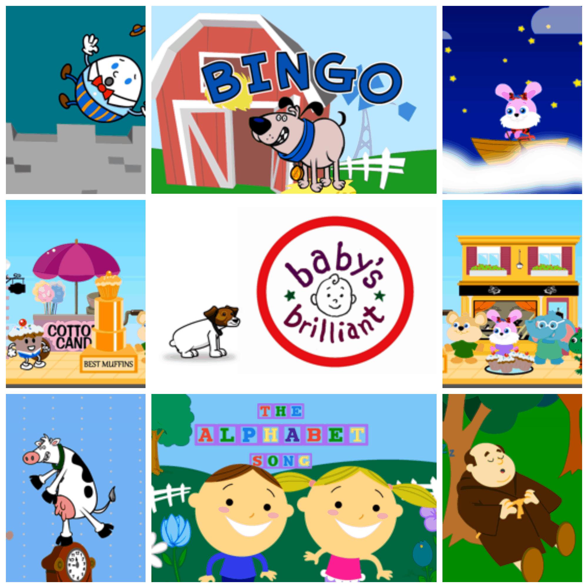 Babys Brilliant App Videos