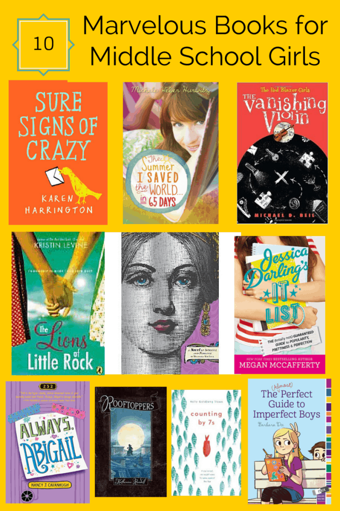 Books for Middle School Girls