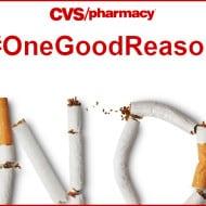 CVS #OneGoodReason to End Smoking