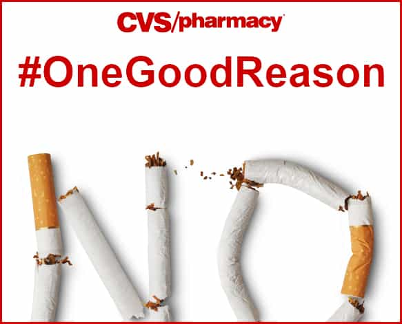 CVS #OneGoodReason to End Smoking