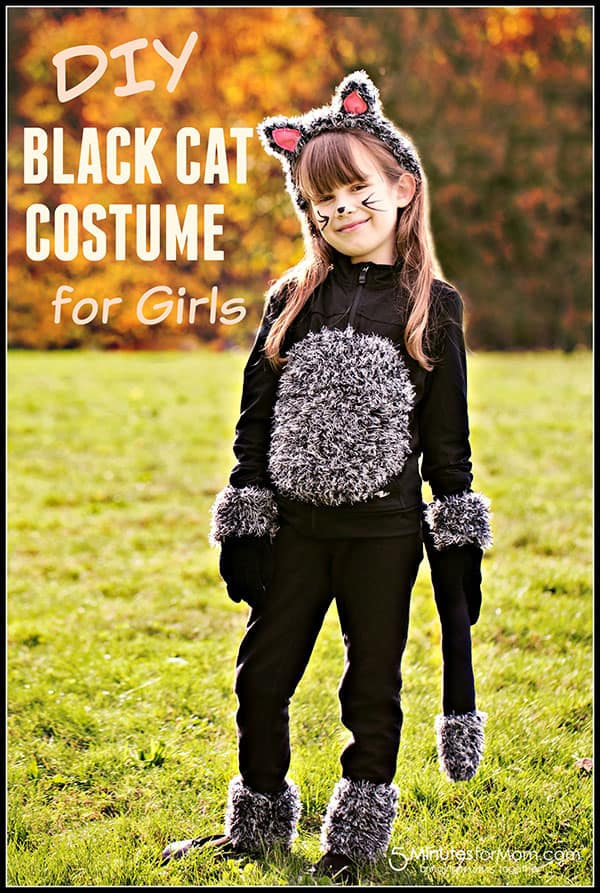 sc 1 st  5 Minutes for Mom & DIY Cat Costume for Kids