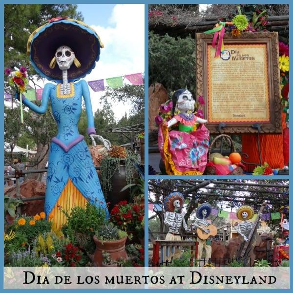 Dia de los Muertos at Disneyland During Halloween Time-#HalloweenTime