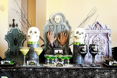 DyingToParty - DIY Halloween Decoration