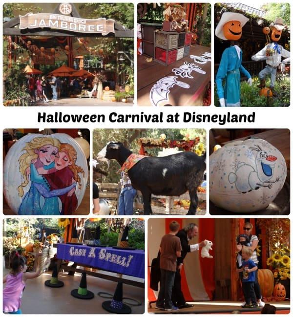 Halloween Carnival at Disneyland 2014