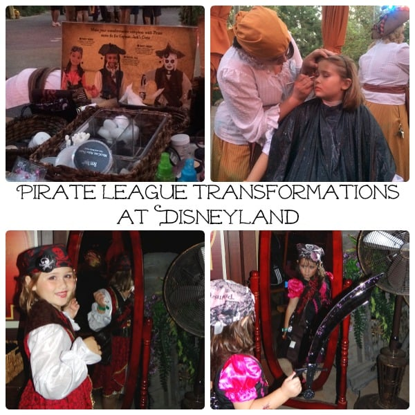 Pirate League Transformations at Disneyland 2014