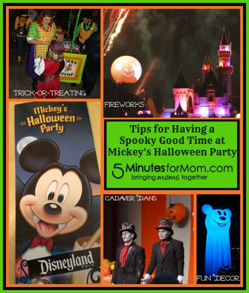 tips for mickeys halloween party at disneyland