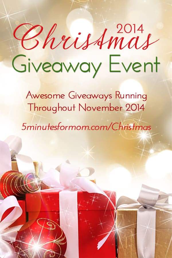 2014 Christmas Giveaway Pin