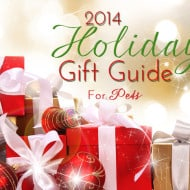 Holiday Gift Guide 2014 – For Pets