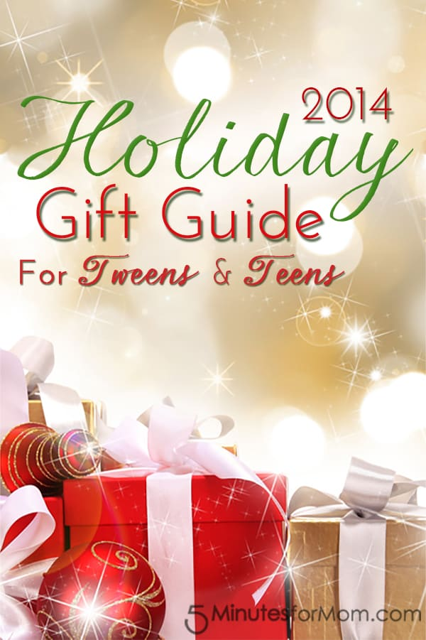 Holiday Gift Guide 2014 for Tweens & Teens
