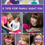 5 Tips for Family Night Fun