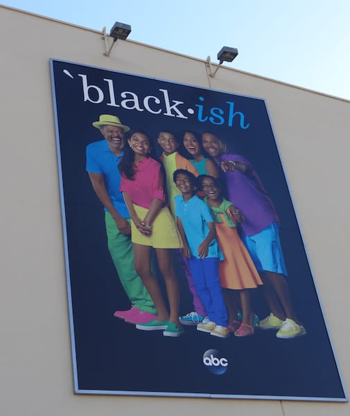 ABC TV black-ish billboard