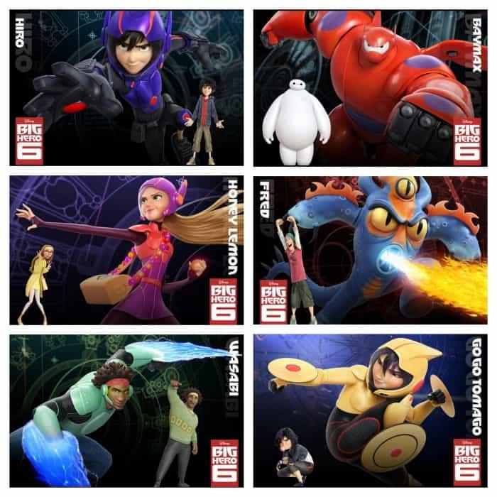 Big Hero 6 Characters BigHero6