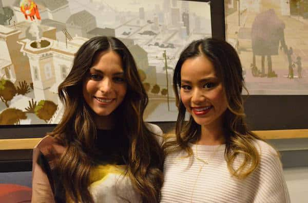 Interview With Jamie Chung And Genesis Rodriguez Of Big Hero 6