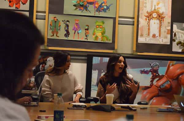 Big Hero 6 Interview with Jamie Chung and Genesis Rodriguez