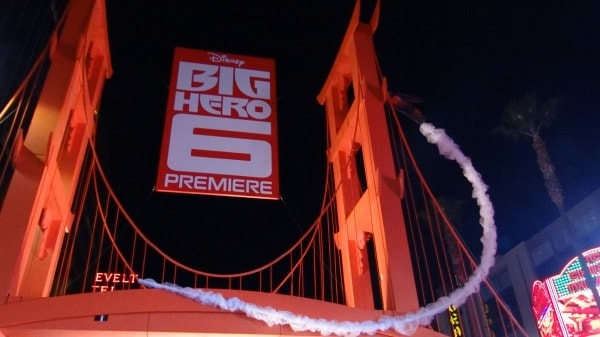 Big Hero 6 Premiere  - Bridge at Night