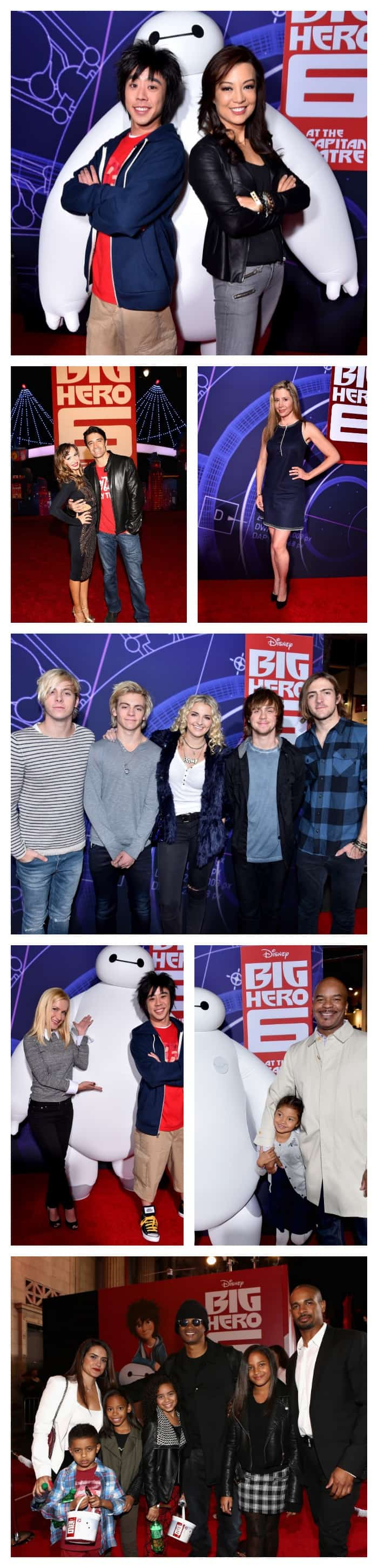 Big Hero 6 Premiere - Celebrities