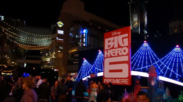 Big Hero 6 Premiere - Display