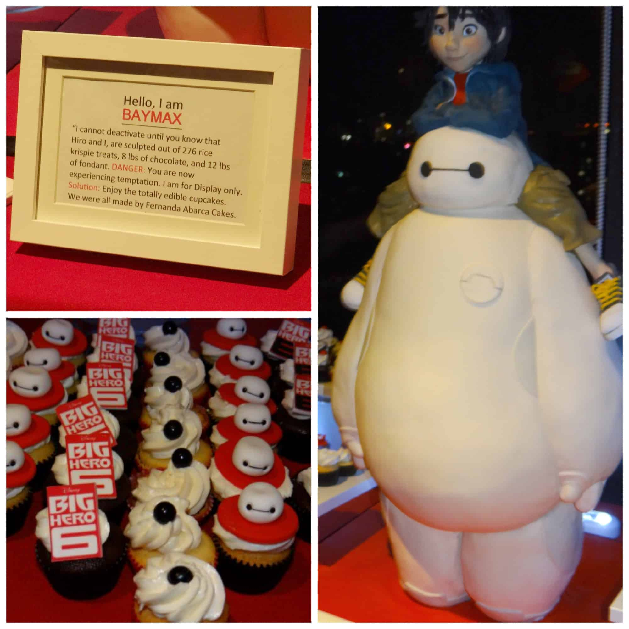 Big Hero 6 Premiere Party - Dessert