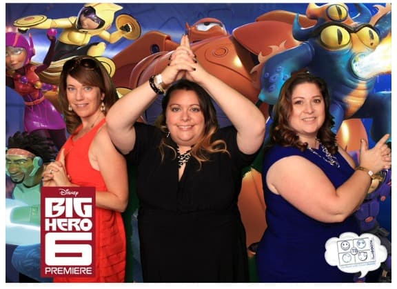 Big Hero 6 Premiere Party - Photobooth