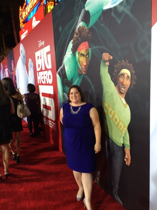 Big Hero 6 Premiere - Red Carpet Pose