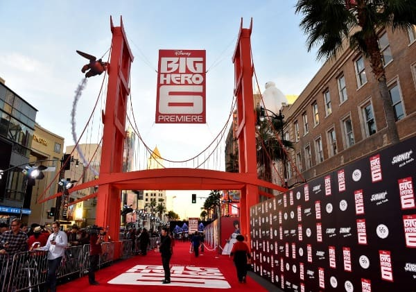 Big Hero 6 Premiere - Red Carpet