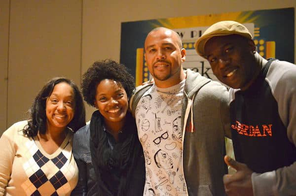 Carol Martin, Keri Shahidi, Troy Scribner, Jack Brown - black-ish parents of kids interview