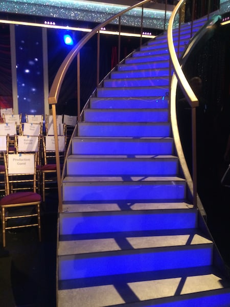 Dancing with the Stars Stairs
