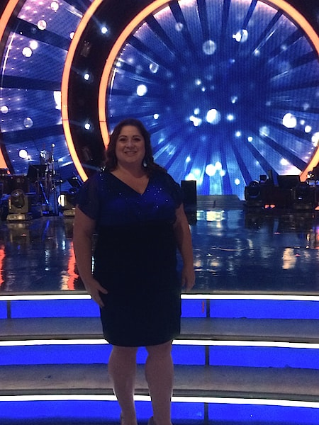 Dawn Cullo - Dancing with the Stars Stage