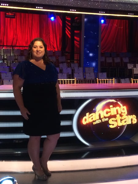Dawn Cullo at Dancing with the Stars