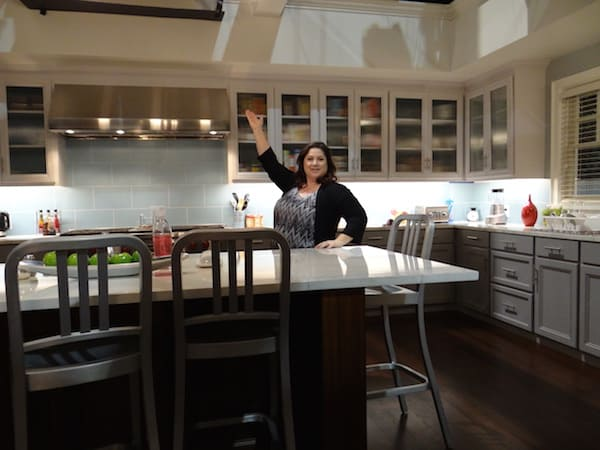 Dawn Cullo in the kitchen of black-ish