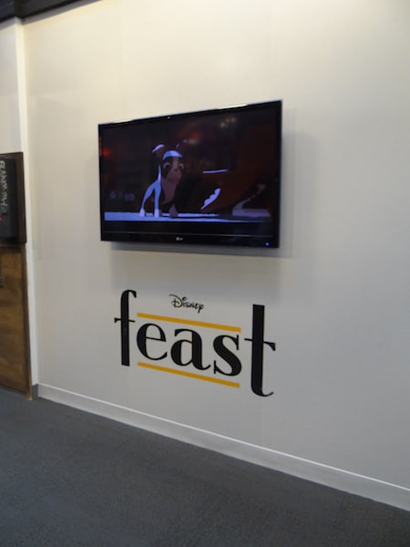 Feast Promo at Roy E. Disney Animation Building
