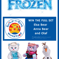 FROZEN Build-A-Bear #Giveaway – Win a Set of All 3 Frozen Bears – Elsa, Anna and Olaf