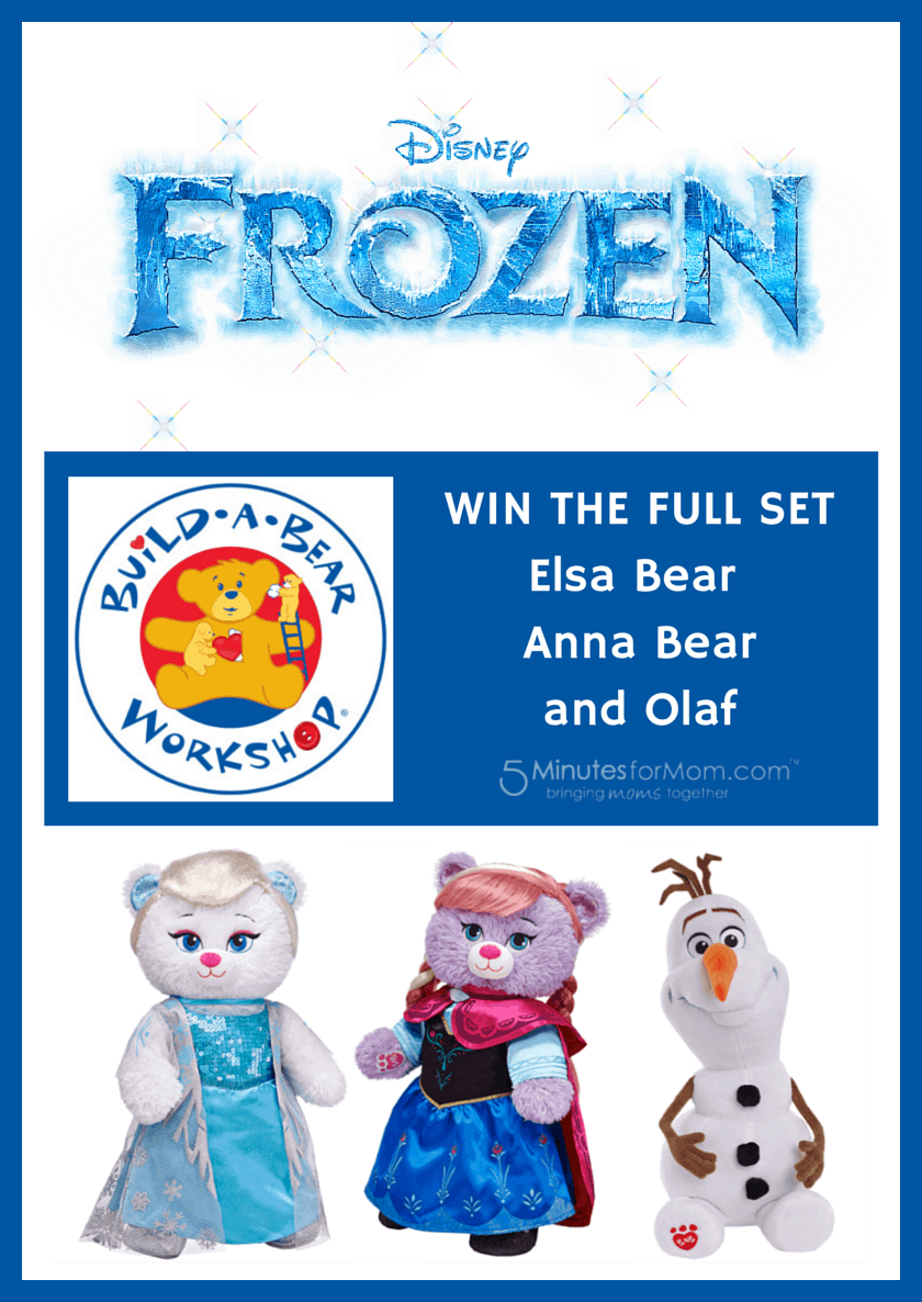 Frozen Build a Bear