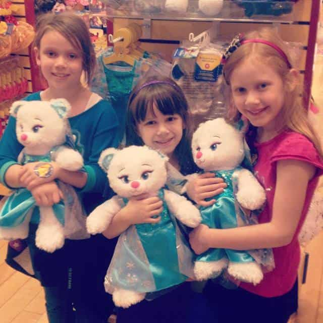 Girls at Build a Bear