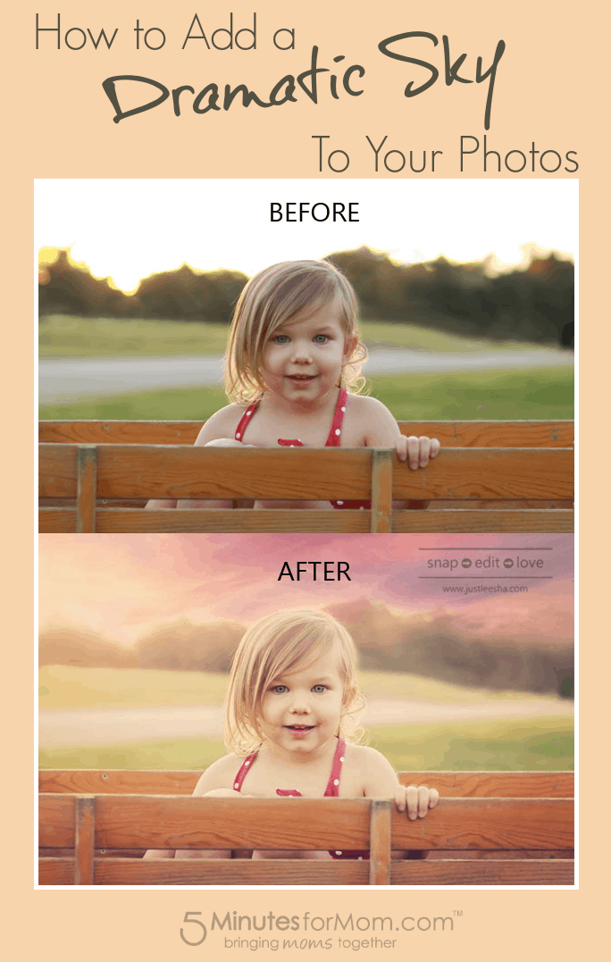 How to Add a Dramatic Sky to Your Photos  - Photoshop Tutorial