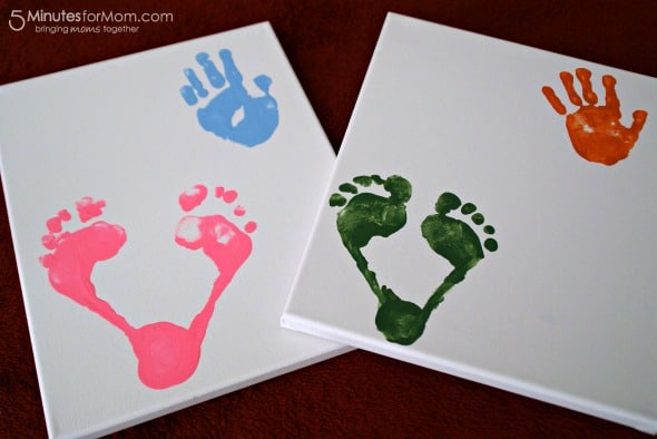 Create Your Own LOVE Print Keepsake / by Busy Mom's Helper for 5MinutesForMom.com #gift #craft