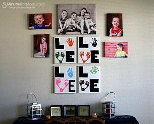 Create Your Own LOVE Print Keepsake
