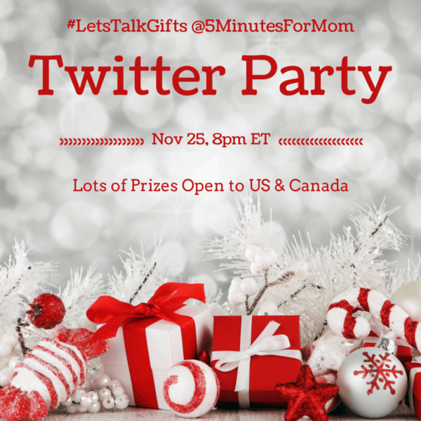 Join #LetsTalkGifts Twitter Party – Nov 25, 8pm ET – US and Canada