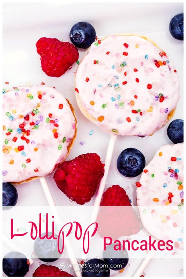 Lollipop Pancakes Recipe