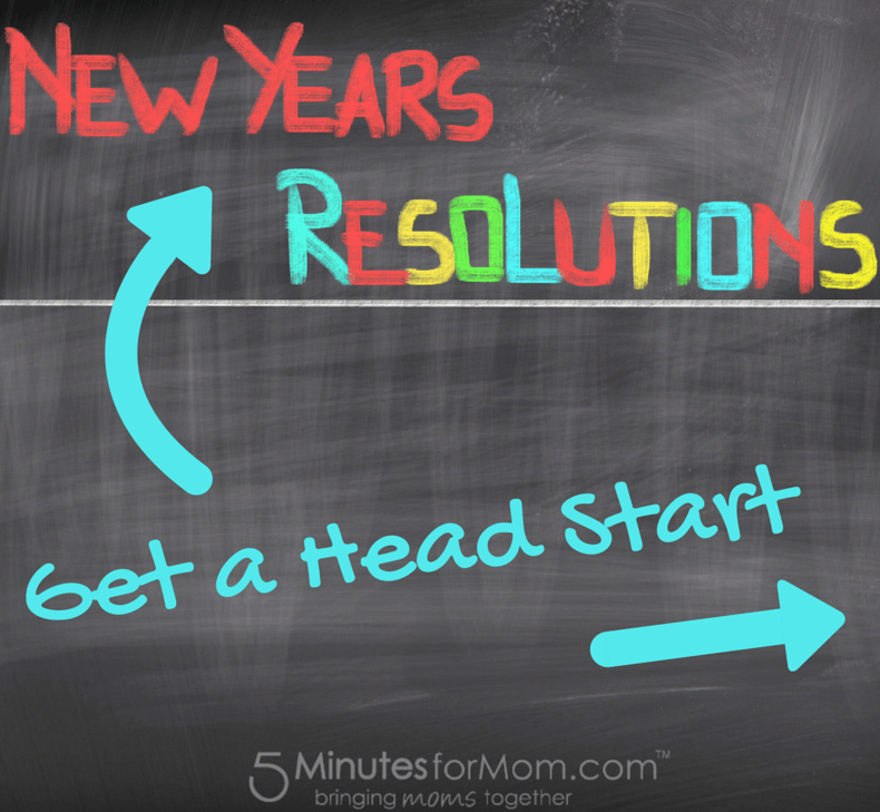 New Years Resolutions Get A Head Start